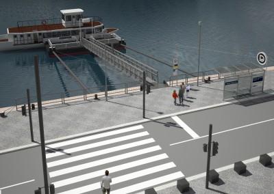 Port at Kossuth Square